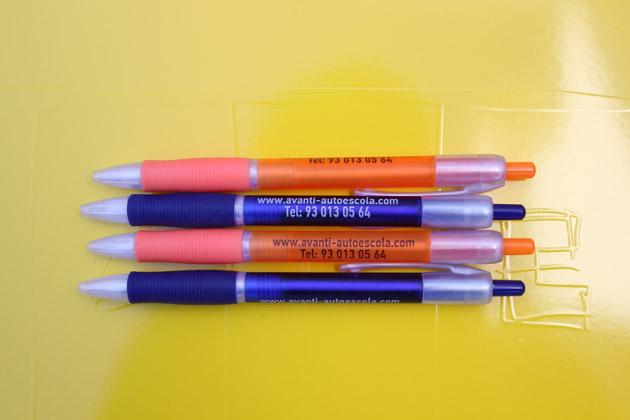 Bolígrafos personalizados para Avanti Autoescola