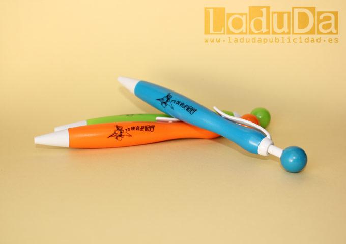 Bolígrafos personalizados Teo se va de viaje