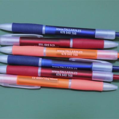 Bolígrafos personalizados Zonet para publicidad de Tallarin