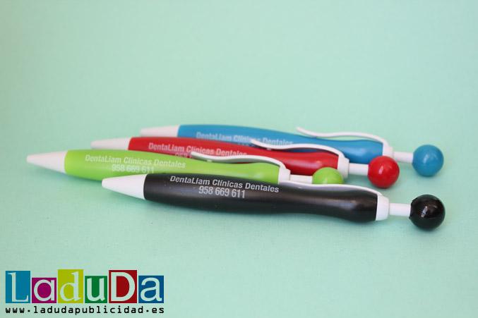 Bolígrafos publicitarios Gallery para DentaLiam Clínicas Dentales