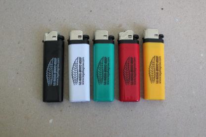 Mecheros personalizados a una tinta para La Galia Grow