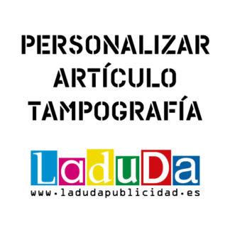 Artículo personalizado por tampografía