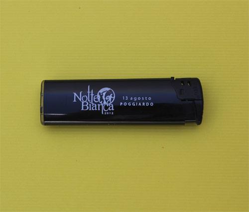 Encendedores electrónicos personalizados publicidad Notte Bianca