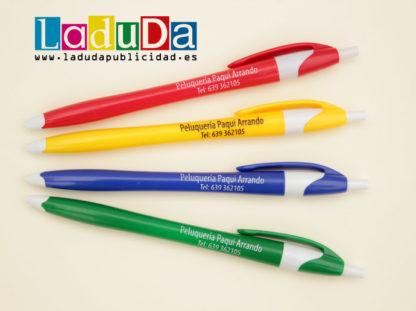 Bolígrafos publicidad peluquería