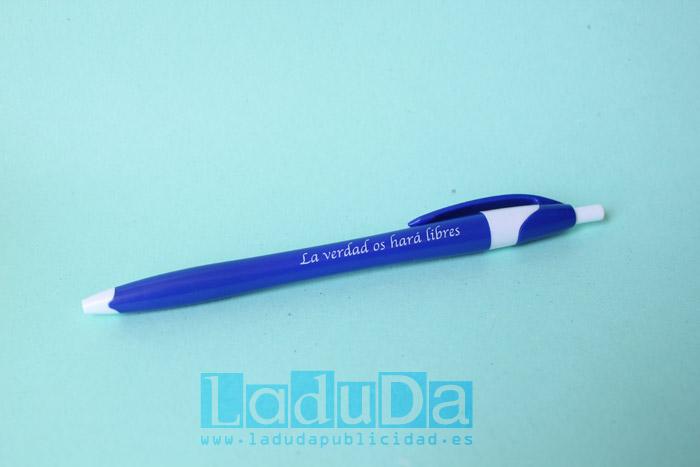 Bolígrafos finball económicos personalizados la verdad os hara libres