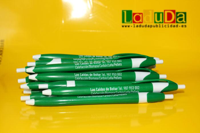 Bolígrafos finball personalizados para publicidad Las Caldas de Boñar