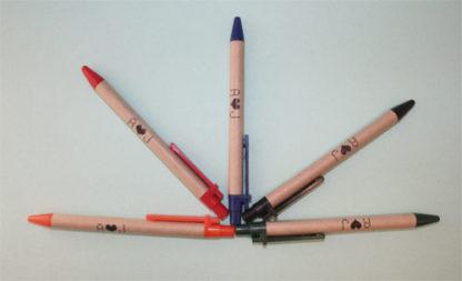Bolígrafos ecológicos personalizados para regalo de boda