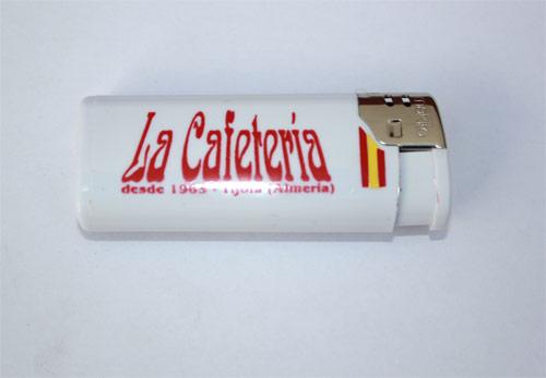 Mecheros con la bandera de España personalizados