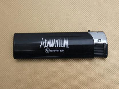 Mecheros publicidad personalizados HIT, tampografía en tinta plata