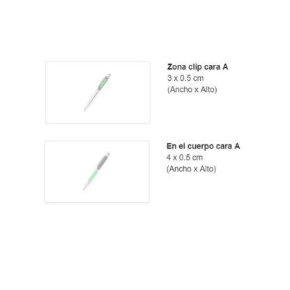 Área de grabado bolígrafos Yago Antonio Miró