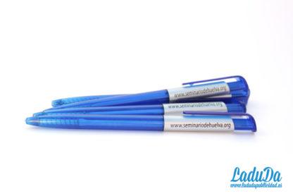 Bolígrafos economicos personalizados al por mayor Kinus