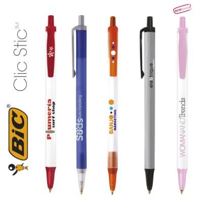 Bolígrafos promocionales BIC Clic Stic