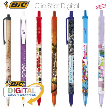 Bolígrafos promocionales BIC Clic Stic Digital