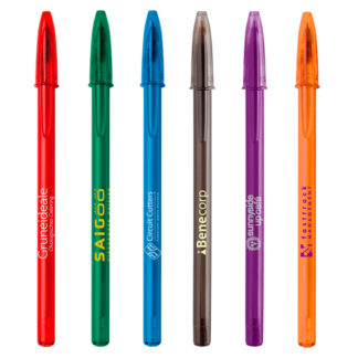 Bolígrafos personalizados BIC Style Clear