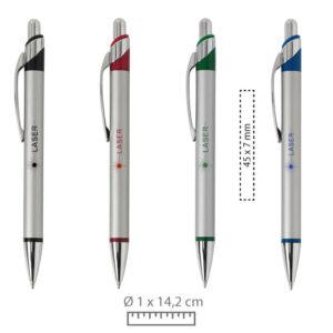 Bolígrafos Ahead personalizados con láser