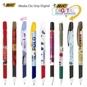 Bolígrafos Bic Media Clip Grip Digital