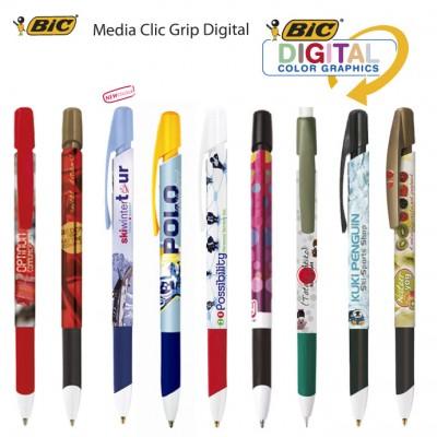Bolígrafos Bic Media Clip Grip Digital