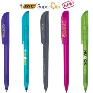 Bolígrafos BIC Super Clip personalizados