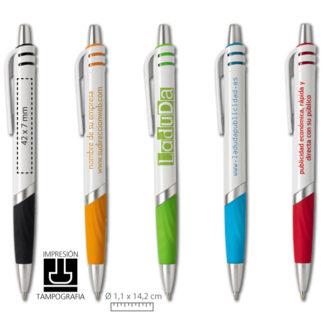 Bolígrafos de plástico Vent