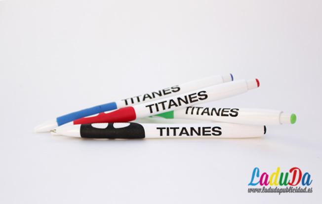 Bolígrafos personalizados al por mayor Siro