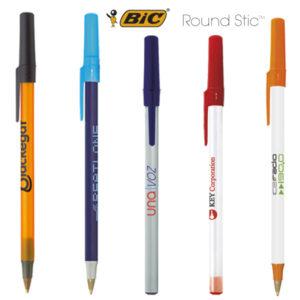Bolígrafos publicidad BIC Round Stic