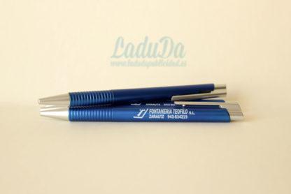 Bolígrafos publicidad visok personalizados 1 tinta