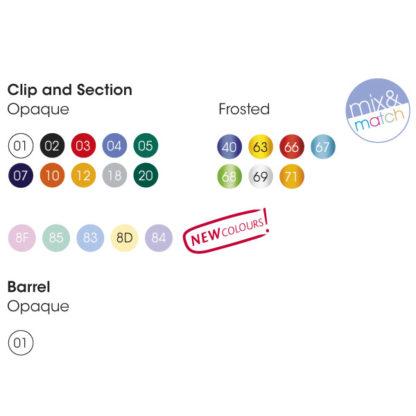 Colores bolígrafos promocionales BIC Clic Stic Digital
