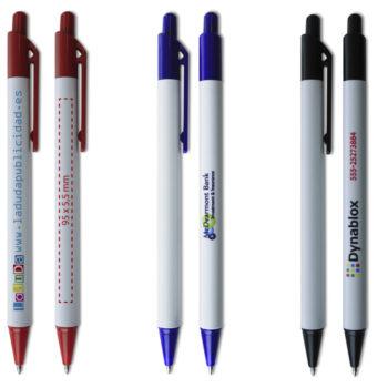 Bolígrafos personalizados a todo color