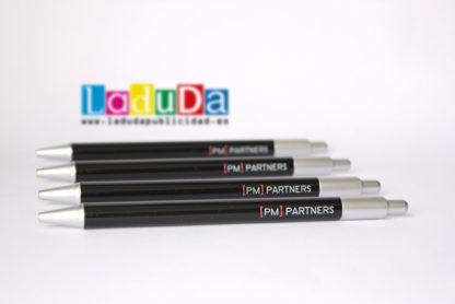 Bolígrafos Spectra impresos a todo color para PM Partners