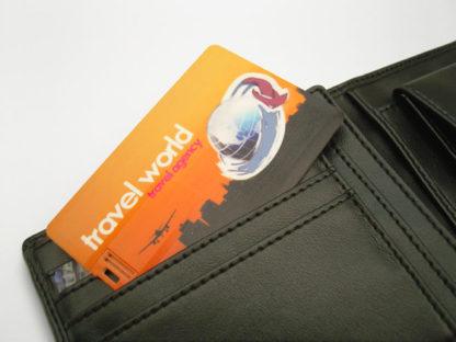 Tartjeta USB Credit Card personalizada para cartera