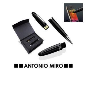 Bolígrafo puntero USB 8GB Latrex de Antonio Miró