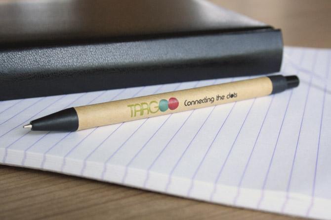 Bolígrafos Eco con impresión digital a todo color