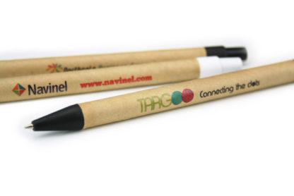 Bolígrafos Eco con impresión digital directa a todo color