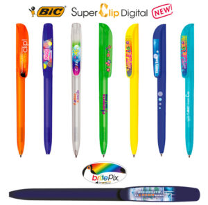 Bolígrafos BIC Super Clip Digital