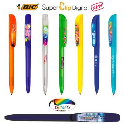 Bolígrafos BIC Super Clip Digital
