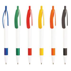 Bolígrafos publicidad Cleo rubber