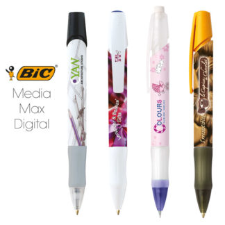 Bolígrafos BIC Media Max Digital