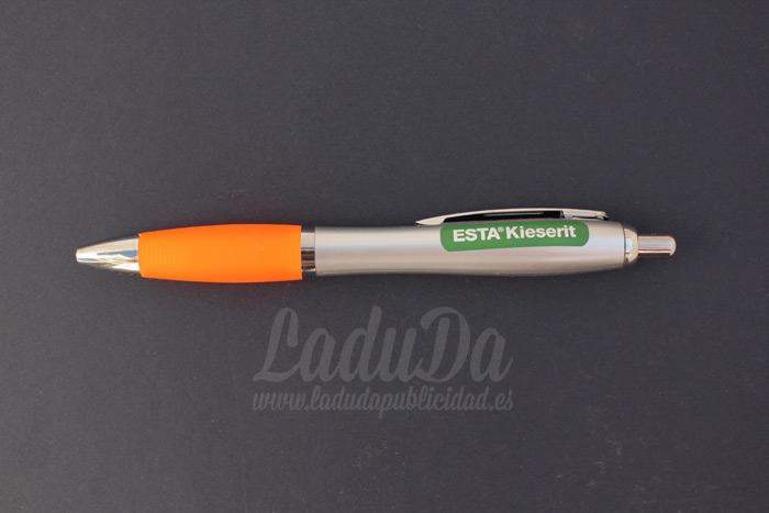 Boligrafos de publicidad slim para ESTA Kieserit