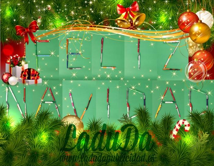 LaduDa Publicidad os desea Feliz Navidad y prospero año 2014