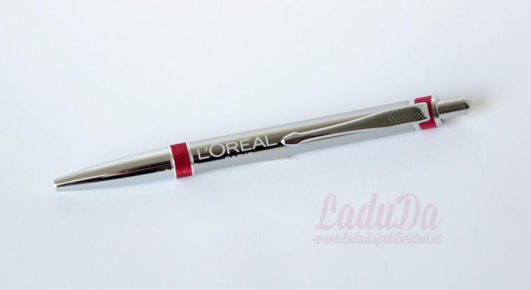 Bolígrafos de metal personalizados Xeno grabado láser