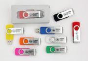 Memorias Usb promocionales Togu 4GB personalizadas a 1 tinta