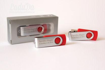 Memorias USB Togu 4GB grabadas láser