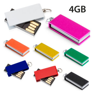Mini memoria usb intrex 4GB personalizada