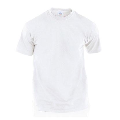 Camisetas publicitarias baratas Hecom blanca