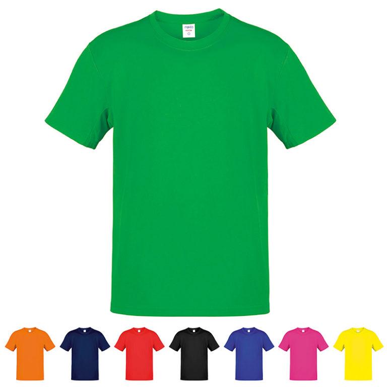 6f468c407 Camisetas publicitarias baratas Hecom color 100% algodón