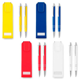 Set bolígrafo y portaminas Ronnel