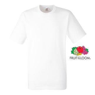 Camiseta Heavy T blanca fruit of the loom