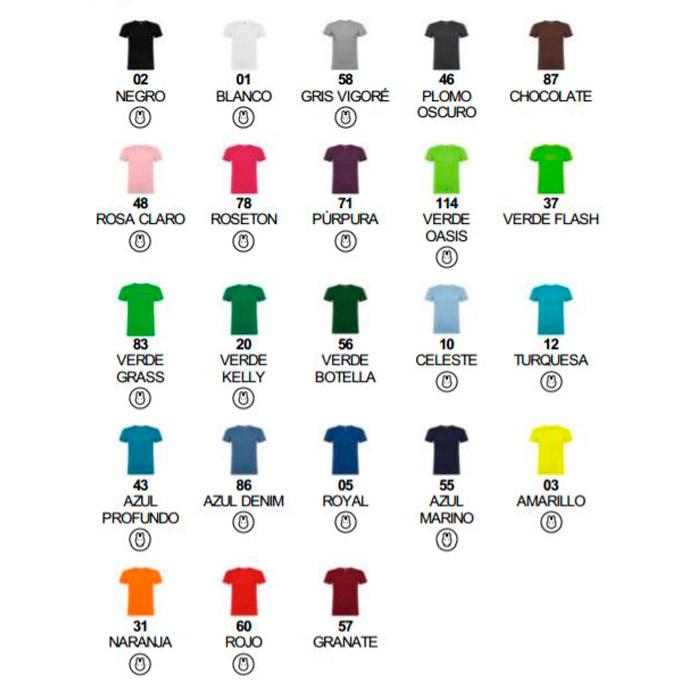 Colores camisetas promocionales Beagle