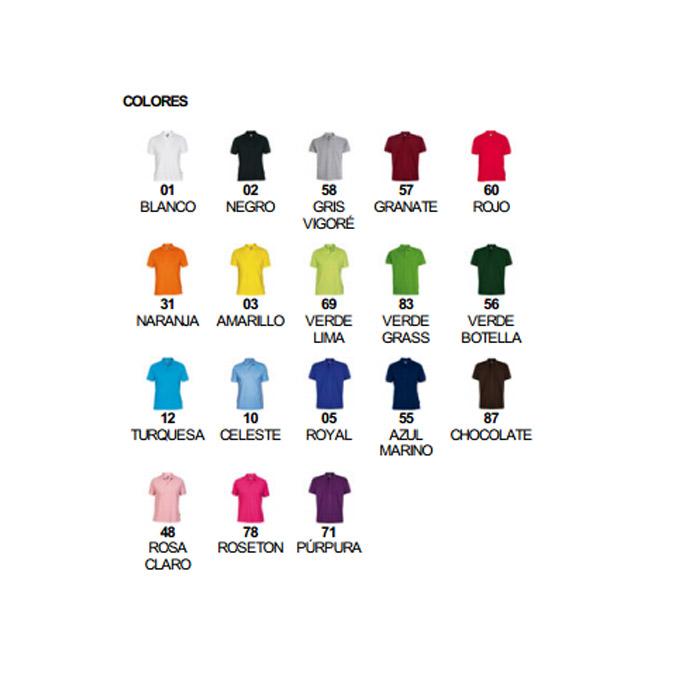 Colores polo hombre estrella