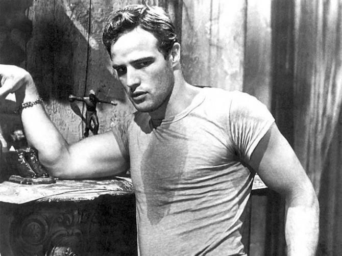 La camisetas son para el verano, Marlon Brando